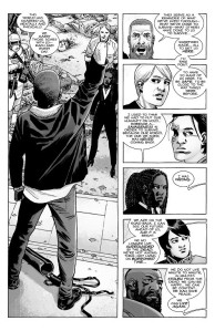 The Walking Dead #191- Rick makes a speech about returning to civility