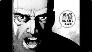 The Walking Dead #191- Rick says that we are NOT The Walking Dead