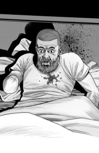 The Walking Dead #191- Rick shot by Sebastian