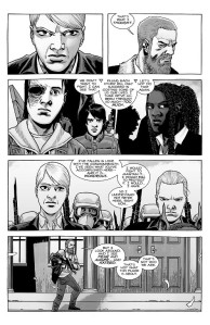 The Walking Dead #191- Rick tells Pamela that they don't have to fight