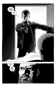 The Walking Dead #191- Sebastian confronts Rick