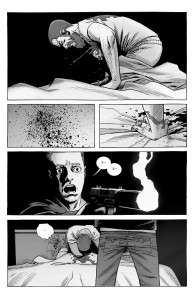 The Walking Dead #191- Sebastian shoots Rick
