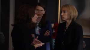 Veep- Catherine and Marjorie confront Selina on her plan to kill gay marriage- HBO