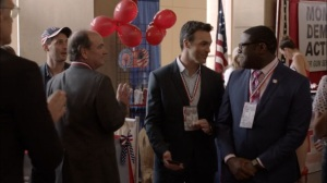 Veep- Dan and Richard at the convention- HBO