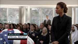 Veep- Kemi Talbot at Selina's memorial- HBO