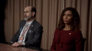 Veep- Leon and Kemi Talbot show up at the meeting- HBO