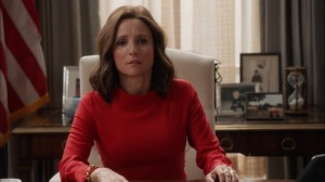 Veep- Selina alone in the Oval Office- HBO