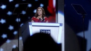 Veep- Selina delivers her nomination speech- HBO
