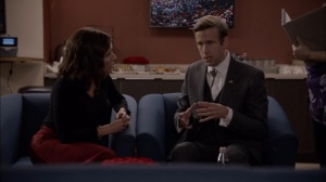 Veep- Selina says she'll outlaw gay marriage if Buddy Calhoun endorses her- HBO