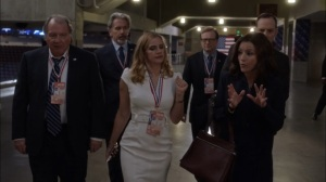 Veep- Selina shoots down Amy's offer to bring on Jonah- HBO