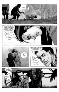 The Walking Dead #192- Carl cries at the loss of his father