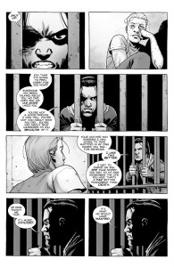 The Walking Dead #192- Carl likes Sebastian being in prison forever