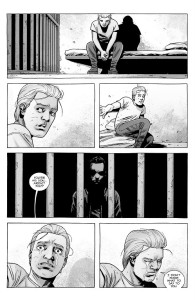 The Walking Dead #192- Sebastian confronted by Carl