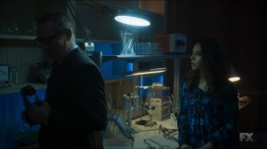 Chapter 21- Cary tells Lenny that David is going to save the world- Legion, FX
