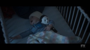 Chapter 22- Baby David with Gabrielle's doll- Legion, FX