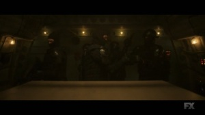 Chapter 24- Division guards prepare for an attack- Legion, FX