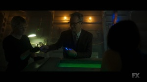 Chapter 25- Cary makes more time bracelets for the others- Legion, FX