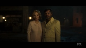 Chapter 25- Melanie and Oliver in their normal attire- Legion, FX