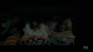 Chapter 25- Oliver and Melanie in bed- Legion, FX
