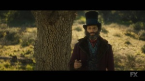 Chapter 25- The Big Bad Wolf, played by Jason Mantzoukas, speaks with Oliver- Legion, FX