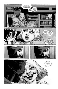 The Walking Dead #193- Andrea wants her father to read the story of Rick Grimes again
