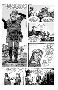 The Walking Dead #193- Carl and Lydia reunite with Eugene at the Western Front
