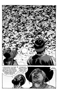 The Walking Dead #193- Carl and Lydia watch the birds in the sky