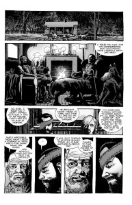 The Walking Dead #193- Carl and Sophia talk with Earl