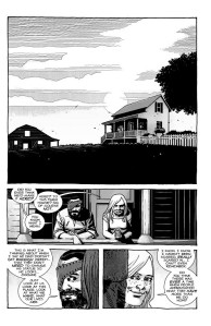 The Walking Dead #193- Carl asks Sophia if she ever thought they would make it this far