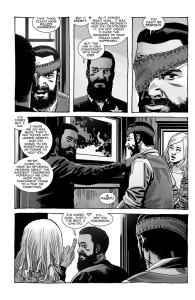 The Walking Dead #193- Carl learns there will be a hearing about him killing one of Hershel's roamers