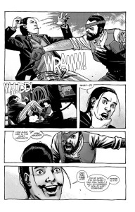 The Walking Dead #193- Carl punches Hershel