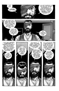 The Walking Dead #193- Carl states his case to Michonne