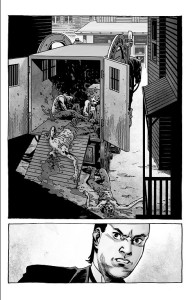 The Walking Dead #193- Hershel finds that someone has killed his roamers