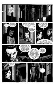 The Walking Dead #193- Hershel upset that nobody remembers his father