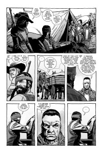 The Walking Dead #193- Laura tells Carl that she still will never forgive Rick