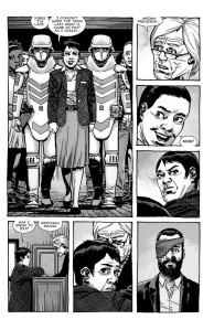 The Walking Dead #193- Maggie arrives at the hearing