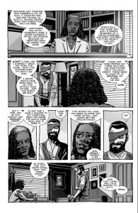The Walking Dead #193- Michonne tells Carl about how she reclaimed her last name