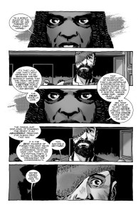 The Walking Dead #193- Michonne tells Carl that he's free to go