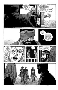 The Walking Dead #193- Sophia chews out Carl for killing Hershel's roamers