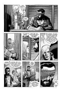 The Walking Dead #193- Sophia meets Carl while he's in holding