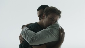 Chapter 27- Charles and David hug- Legion, FX