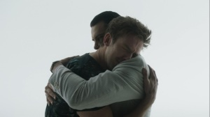 Chapter 27- David and Charles hug- Legion, FX