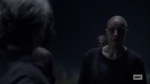 Ghosts- Alpha forgives Carol- AMC, The Walking Dead
