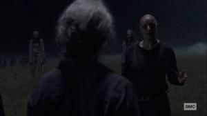 Ghosts- Alpha wants Carol to fear her- AMC, The Walking Dead
