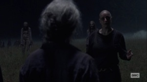 Ghosts- Alpha wants Carol to fear her- AMC, The Walking Dead