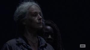 Ghosts- Carol feels nothing for Alpha- AMC, The Walking Dead