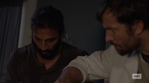 Ghosts- Dante and Siddiq work on Carol- AMC, The Walking Dead
