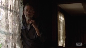 Ghosts- Negan keeps watch over Aaron- AMC, The Walking Dead