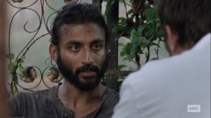 Ghosts- Siddiq asks what happened to Dante's friend- AMC, The Walking Dead