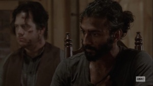 Ghosts- Siddiq still dealing with trauma- AMC, The Walking Dead